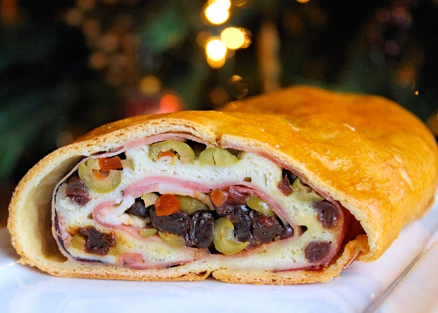 El tradicional Pan de Jamón